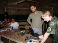 Projektbesprechung, Planung der Kamerafallenstudie
