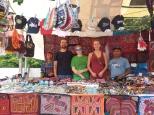 erster Kontakt mit dem indigenen Volk der Kuna Yala in Panama City
