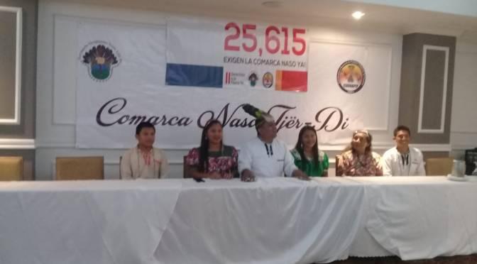 """Pressemitteilung und Kommentar zur Informationsveramstaltung """"Comarca Naso Tjer Di"""", Panama Stadt, 13.06.2019"""